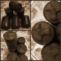 Торфяные брикеты Евро